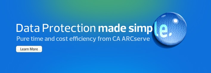 CA Simplicity - Data Protection made simple
