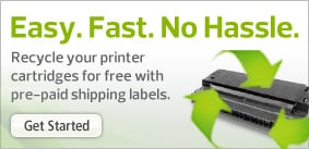Find out about the Ink and Toner Recycling Program.
